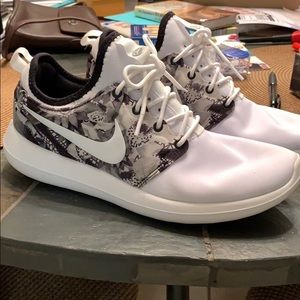 Brand new personalized Nike running shoes